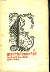 Les Oeuvres De Paris Contenant Les Lais, Le Testament, Les Ballades Et Poesies - Couverture - Format classique