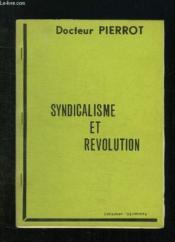 Brochure. Syndicalisme Et Revolution. - Couverture - Format classique