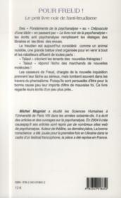 Pour Freud ! le petit livre noir de l'anti-freudisme - 4ème de couverture - Format classique