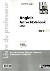 Active notebook bts 2 anglais galee livre du professeur - Couverture - Format classique
