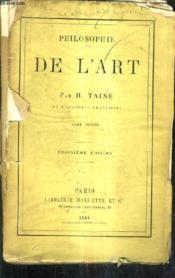 Philosophie De L'Art - Tome Second / 3 E Edition. - Couverture - Format classique