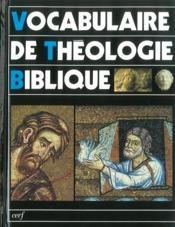 Vocabulaire de théologie biblique - Couverture - Format classique