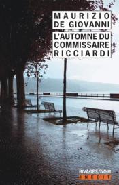L'automne du commissaire Ricciardi - Couverture - Format classique
