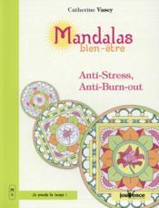 Mandalas bien-être ; anti-stress, anti-burn-out - Couverture - Format classique
