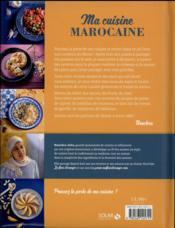 Ma cuisine marocaine ; ma fleur d'oranger - 4ème de couverture - Format classique