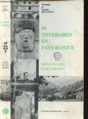 10 Itineraires En Pays-Basque - Circuit Des Nives Et De La Bidassoa - Couverture - Format classique