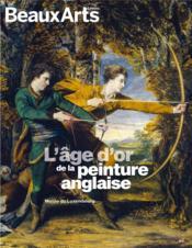 L'âge d'or de la peinture anglaise - Couverture - Format classique
