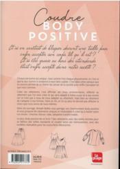 Couture body positive - 4ème de couverture - Format classique