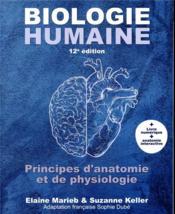 Biologie humaine (12e édition) - Couverture - Format classique