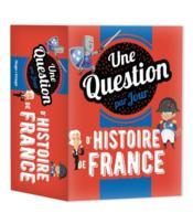 Une question d'Histoire de France par jour (édition 2021) - Couverture - Format classique
