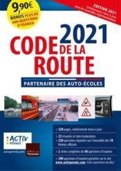 Code de la route (édition 2021) - Couverture - Format classique