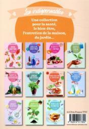 Cuisine des restes ; 60 recettes pour mieux vivre - 4ème de couverture - Format classique