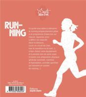 Running - 4ème de couverture - Format classique