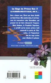 La Cite Perdue Des Jedi T.2 - 4ème de couverture - Format classique