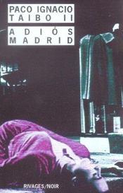 Adios Madrid - Intérieur - Format classique