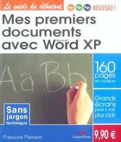 Mes 1ers documents avec word - Intérieur - Format classique