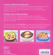Tartes et tartelettes - 4ème de couverture - Format classique
