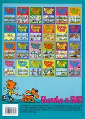 Boule & Bill T.7 - 4ème de couverture - Format classique