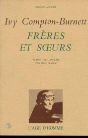 Freres Et Soeurs - Couverture - Format classique