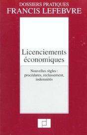 Licenciements economiques - Intérieur - Format classique