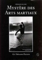 Mystere Des Arts Martiaux - Couverture - Format classique