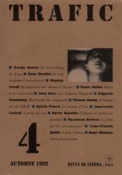 Revue Trafic N.4 - Couverture - Format classique