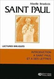 Saint paul - Couverture - Format classique