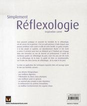 Simplement réflexologie - 4ème de couverture - Format classique