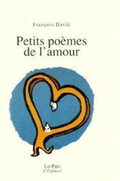 Petits poèmes de l'amour - Couverture - Format classique