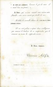 LES LOIS DE LA PROCÉDURE CIVILE, ouvrage dans lequel l'auteur a refondu son analyse raisonnée, son traité, et ses questions sur la procédure, 3èmeéd. dans laquelle ont été examinées et discutées: 1° les opinions de M.Carré; 2° toutes les décisions rendues de 1821 à 1843; 3° les questions prévues par MM.Boncenne, Thomine Desmazures, Dalloz, Boitard, etc. par Ch. A., 3èmeéd., 4ème tirage - Couverture - Format classique