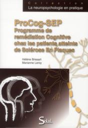 Programme de remediation cognitive chez les patients atteints de sclerose en - Couverture - Format classique