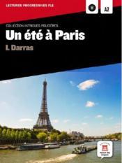 Un été à Paris ; niveau a2 - Couverture - Format classique