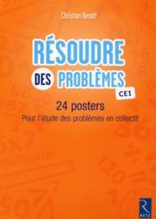 Posters resoudre des problemes ce1 - Couverture - Format classique