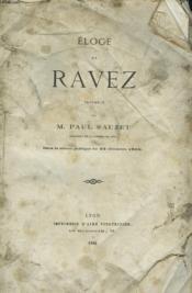 Eloge De Ravez Dans La Seance Publique Du 22 Decembre 1863. - Couverture - Format classique
