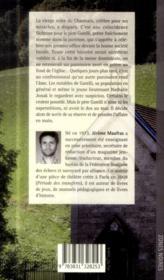 Vierge noire ; morte saison en Savoie - 4ème de couverture - Format classique