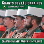 Cd Chants Des Legionnaires - Couverture - Format classique