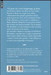 Les Hortenses - 4ème de couverture - Format classique