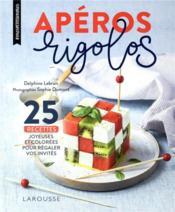 Apéro rigolo - Couverture - Format classique