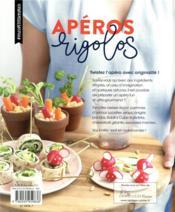 Apéro rigolo - 4ème de couverture - Format classique