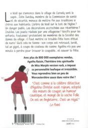 Agatha Raisin enquête T.21 ; trouble-fête - 4ème de couverture - Format classique