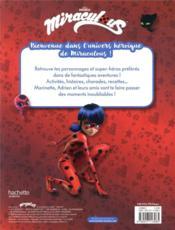 Miraculous ; le grand livre de Miraculous - 4ème de couverture - Format classique