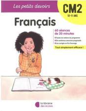 Les petits devoirs ; français ; CM2 (édition 2020) - Couverture - Format classique