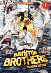 Bathtub brothers T.1 - Couverture - Format classique
