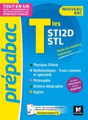 Prépabac ; terminale STI2D, STL ; tout-en-un - Couverture - Format classique