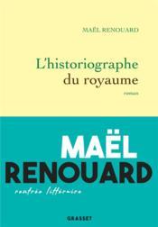 L'historiographe du royaume - Couverture - Format classique