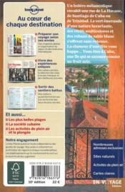 Cuba (10e édition) - 4ème de couverture - Format classique