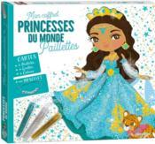 Mon coffret paillettes ; princesses du monde - Couverture - Format classique