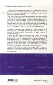 Communication Et Medias ; Evolution Et Revolution - 4ème de couverture - Format classique
