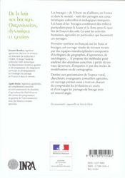 De La Haie Aux Bocages. Organisation, Dynamique Et Gestion - 4ème de couverture - Format classique