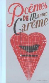 Poèmes de Maurice Carême - Intérieur - Format classique